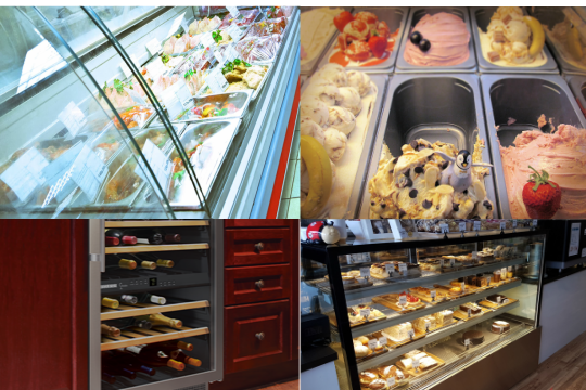 Commercial refrigerator repairs types